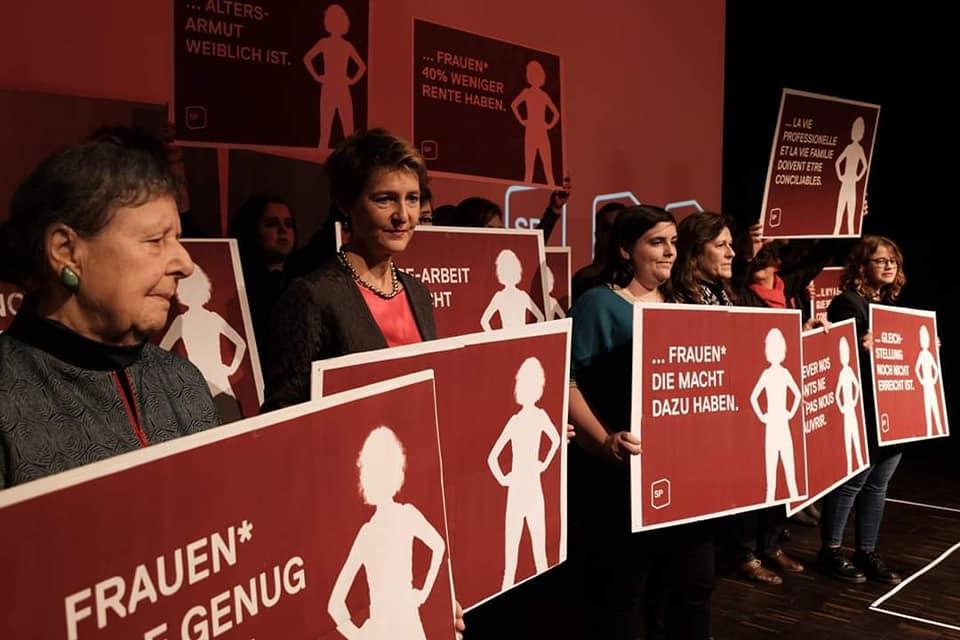 Kandidatur als GL-Mitglied der SP Frauen*