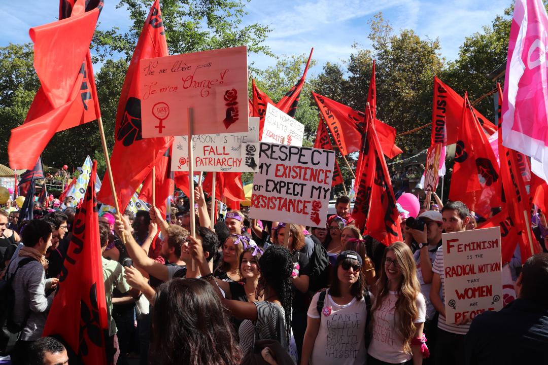 Die Revolution wird feministisch oder unbedeutend!